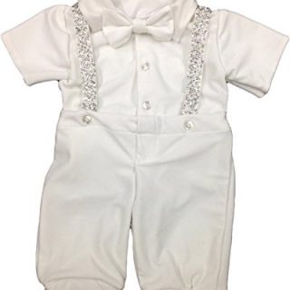 Newdeve Baby-Boys Christening Outfits Long Baptism Gowns