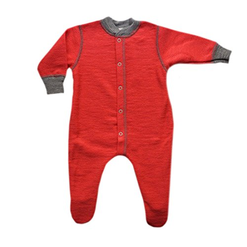 Engel 100% merino wool baby pajamas pyjamas romper overall sleepwear