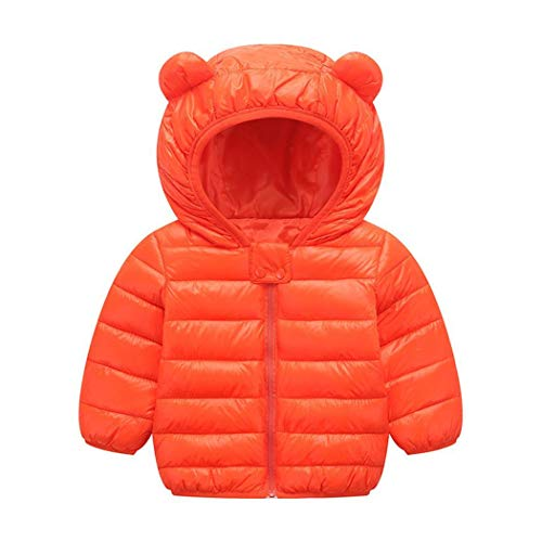 GuGio Winter Coats for Kids with Hoods Light Puffer Jacket