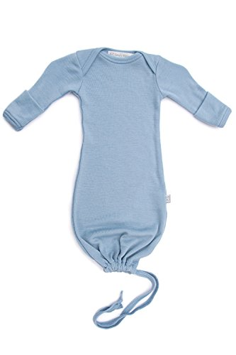 Pure Merino Wool Baby Sleep Sack. Kids Infant Gown Sleeper Bag