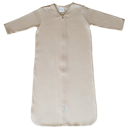 CastleWare Baby- Organic Cotton Rib Knit- Sleeper Bag- Long Sleeve
