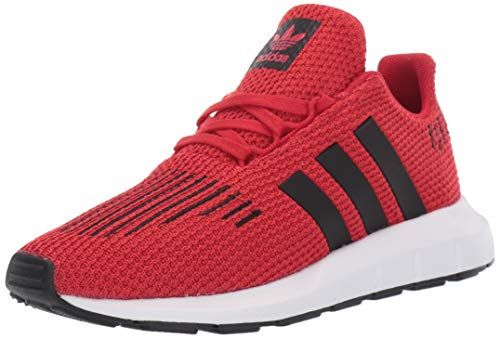 adidas Originals Baby Swift Running Shoe, Scarlet/Black/White