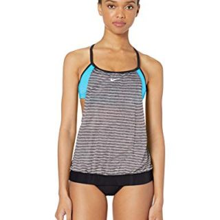 Nike Swim Women's Layered Sport Tankini Swimsuit Set