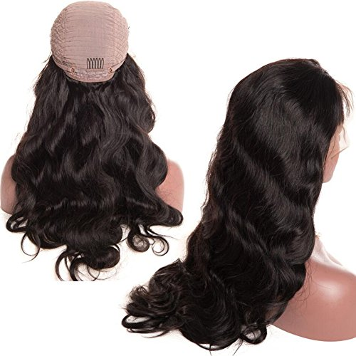Glueless Body Wave Lace Front Wigs 18 inch