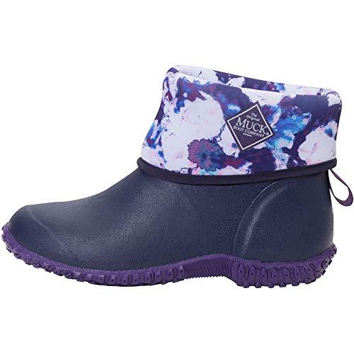 Muck Boot Women's Muckster II Mid Blue Neoprene Boots