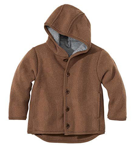 Disana Baby Boys' Coat In Organic Boiled Merino Wool