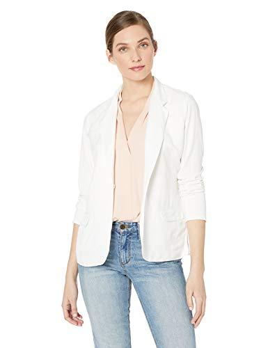 NIC+ZOE Women's Front Runner Blazer, Paper White