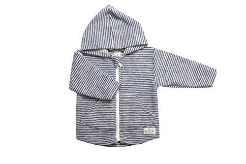Lilano 100% Organic Merino Wool Baby Jacket with Hood