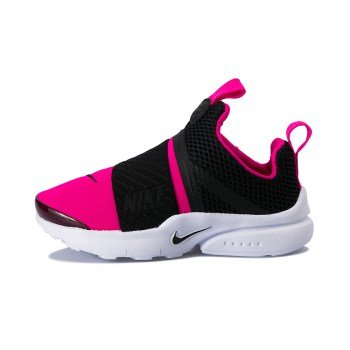 NIKE Presto Extreme (PS) Little Kids Shoes Black/Pink/PrimeWhite