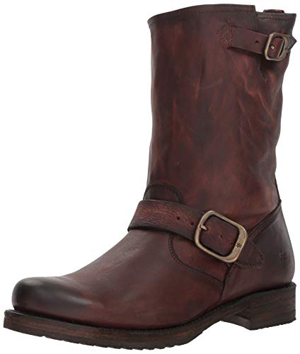 FRYE Women's Veronica Short Ankle Boot, Redwood