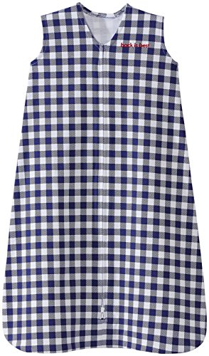 Halo SleepSack, 100% Cotton, Buffalo Check, Navy