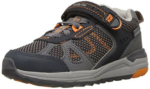 Stride Rite Boys' Made 2 Play Owen Sneaker, Navy
