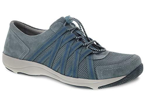 Dansko Women's Honor Sneaker, Slate Suede