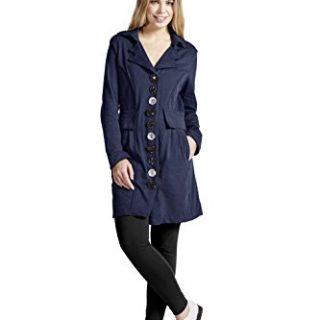 Neon Buddha Women's Lightweight Cotton Jacket Female Long Blazer