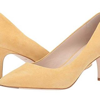 Cole Haan Women's Vesta Pump (65mm) Sunset Gold Suede