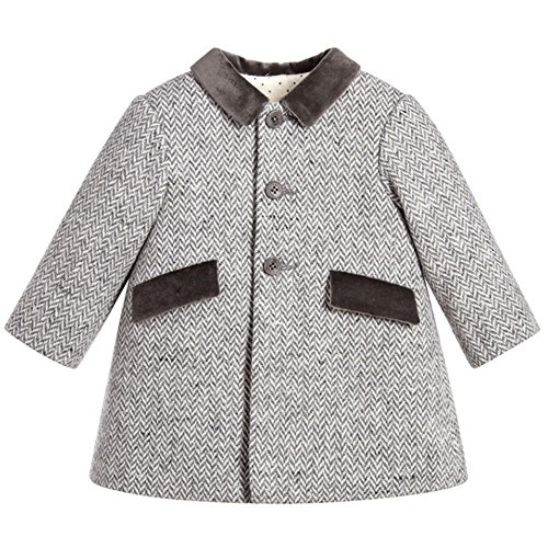 ZPW Baby Boy Wool Peacoat Gentleman Fashion Jacket Coat
