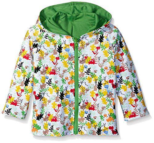 Zutano Little Boys' Toddler Dino Camo Reversible Hoodie Jacket