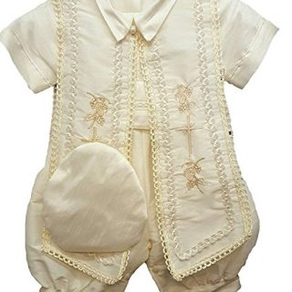 Aorme Baby Boys Christening Outfits Baptism Set
