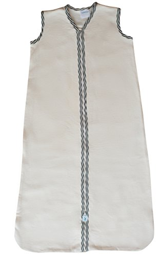 CastleWare Baby-Organic Cotton Fleece-Sleeveless-Sleeper Bag
