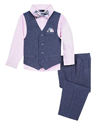 Nautica Baby Boys 4-Piece Formal Dresswear Vest Set