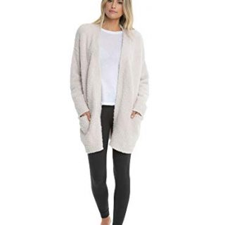 Barefoot Dreams CozyChic Women's So-Cal Cardi w/Pockets