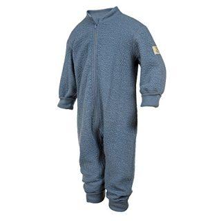 Janus Crinkle Merino Wool Baby Toddler Pyjama Playsuit