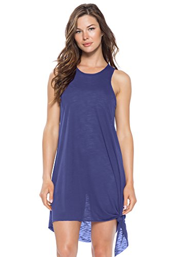 Becca by Rebecca Virtue Women's High Neck Tank Dress