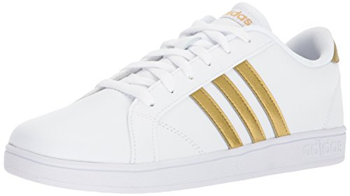 adidas Performance Unisex-Kids Baseline, White/Matte Gold/Core Black