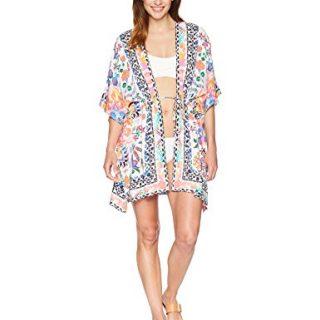 La Blanca Women's Cover-Up Kimono Dress