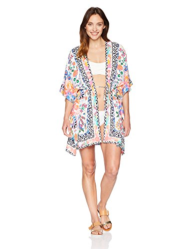 La Blanca Women's Cover-Up Kimono Dress