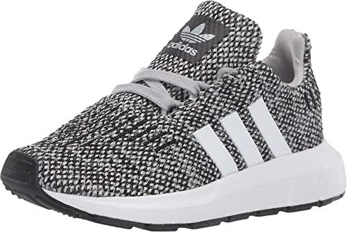 adidas Originals Kids Baby Boy's Swift Run (Toddler) Grey/White