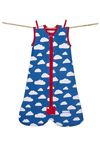 Little Fishkopp Organic Cotton Baby Sleep Sack, Clouds