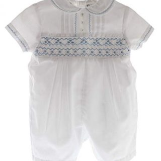 Sarah Louise Newborn Boys Christening Outfit White