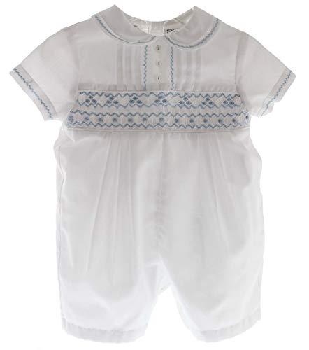 Sarah Louise Newborn Boys Christening Outfit White