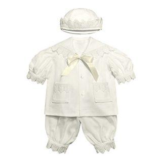Victorian Organics Baby Boy Sailor Set 4 Piece Organic Cotton Knit
