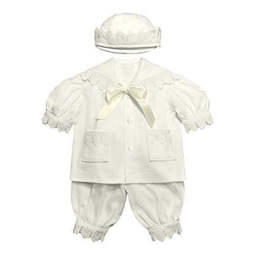 Victorian Organics Baby Boy Sailor Set 4 Piece Organic Cotton Knit