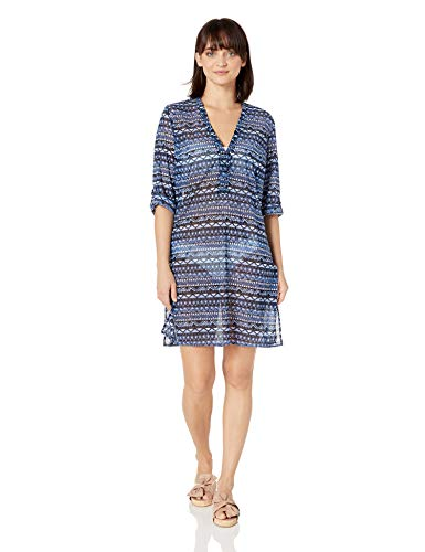 Profile by Gottex Women's Shirtdress Swimsuit Cover up