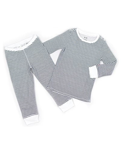 Unisex Toddler Pajama Set – 100% Organic Pima Cotton