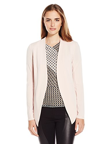 BCBGeneration Women's Tuxedo Blazer, Rose Smoke