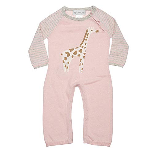 Lucky Jade Cameron Coverall Cashmere Cotton Giraffe Jumpsuits