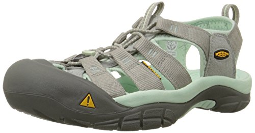 KEEN Women's Newport H2 Sandal,Neutral Gray/Misty Jade