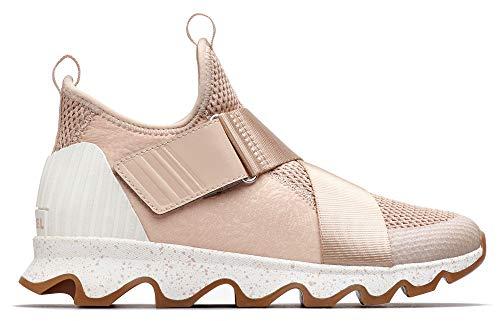 SOREL - Women's Kinetic Sneak Casual Mesh Sneakers, Natural Tan
