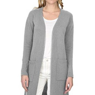 State Cashmere Women's 100% Pure Cashmere Open Front