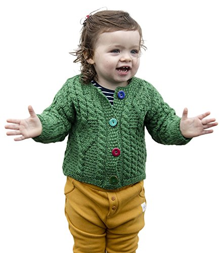 Carraig Donn Baby Wool Irish Jacket Sweater