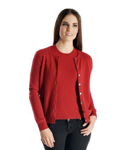 Cashmere Boutique: Women's 100% Pure Cashmere Cardigan