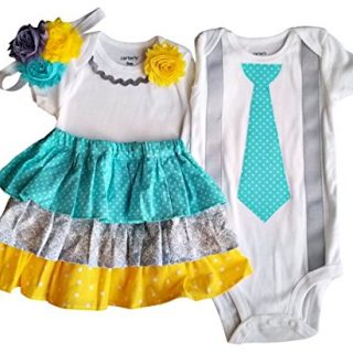 Perfect Pairz Boy Girl Twin Outfits Grace and Grayson USA