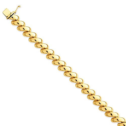14K Yellow Gold Polished San Marco Necklace