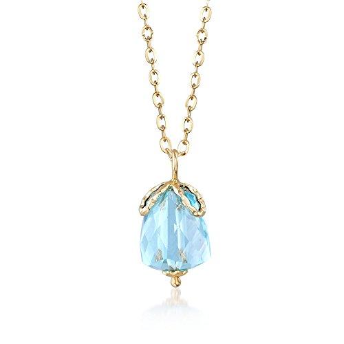 Ross-Simons Italian 5.00 Carat Aquamarine Pendant Necklace