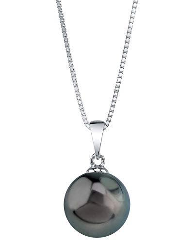 THE PEARL SOURCE 10-11mm Genuine Tahitian South Sea Cultured Pearl