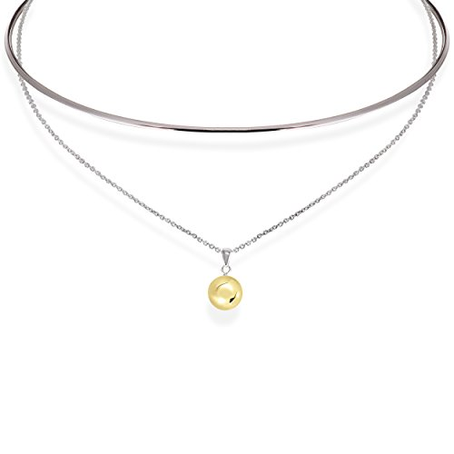 Cape Cod Jewelry Solid Sterling Silver Designer 2 in 1 Necklace/Collar